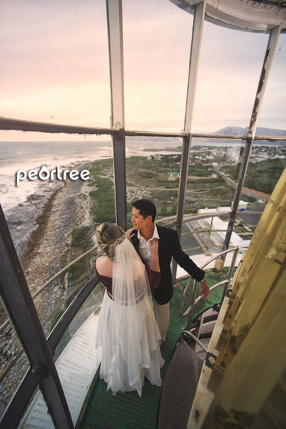 lighthouse wedding slangkop kommetjie
