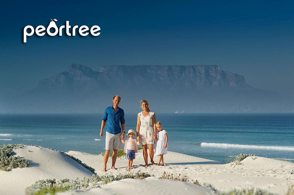 dutch family photos south africa table mountain