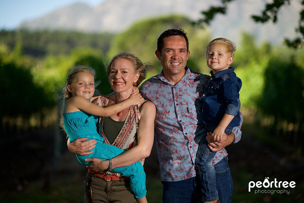 natural outdoor family photography