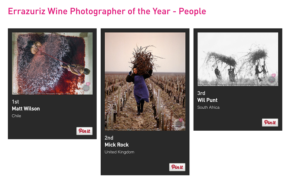 wine photographer of the year wil punt