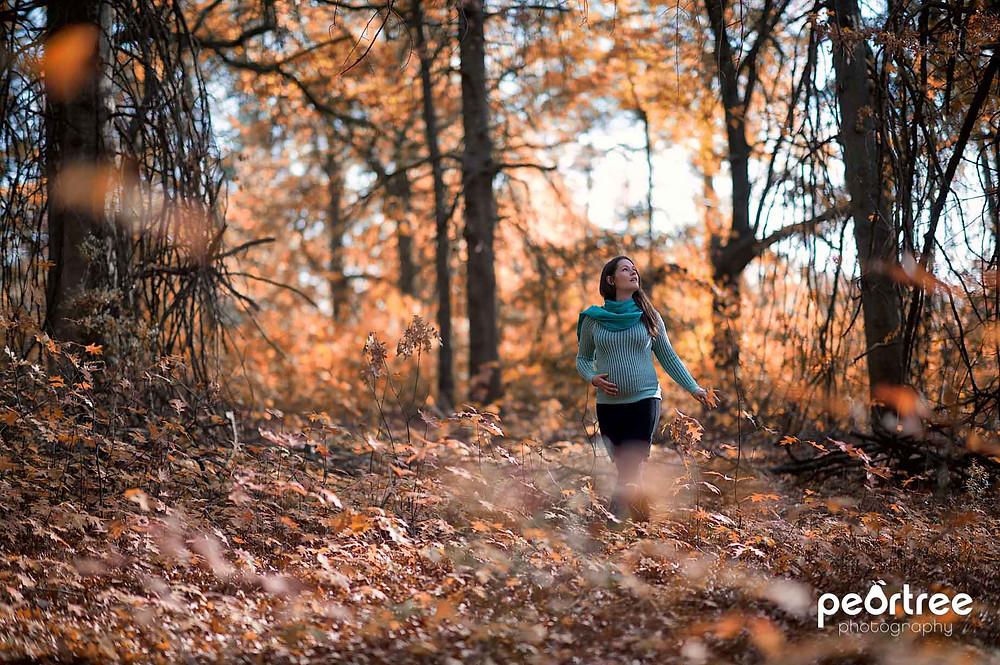 Outdoor Pregnancy Shoot