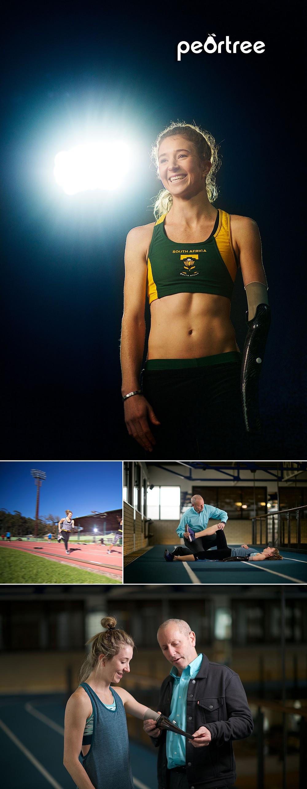 south africa Paralympian anrune liebenberg