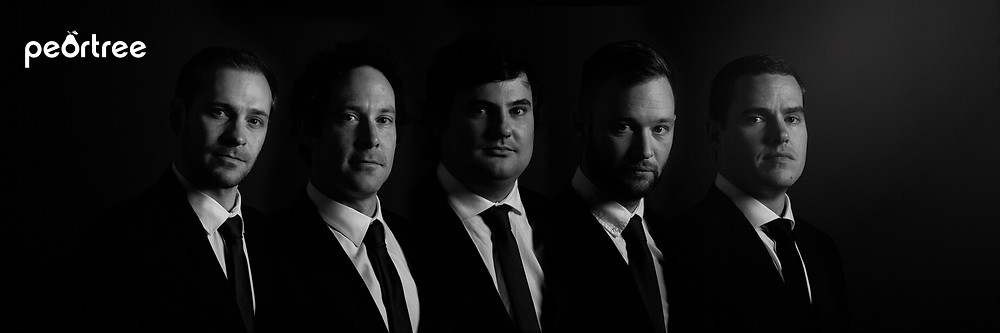 Top groomsmen portrait