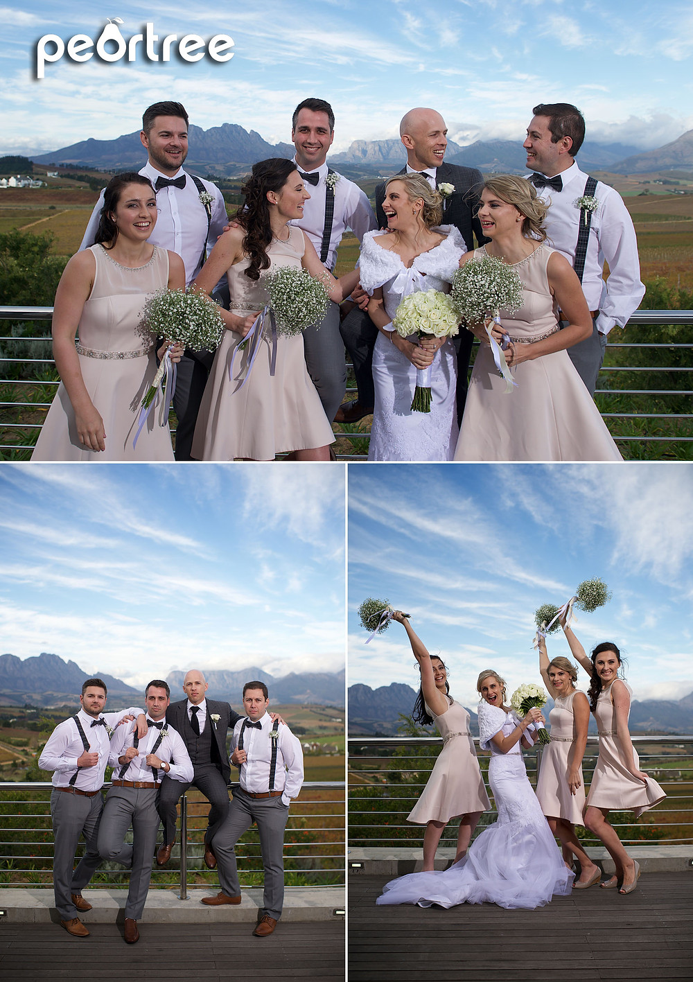 landtscap wedding view stellenbosch