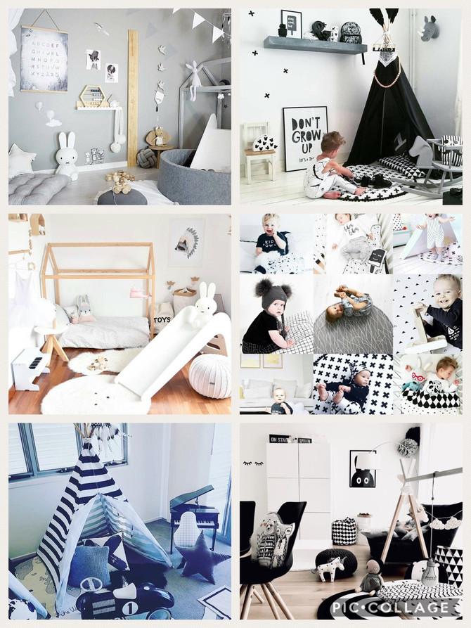 Chambre d'enfant scandinave