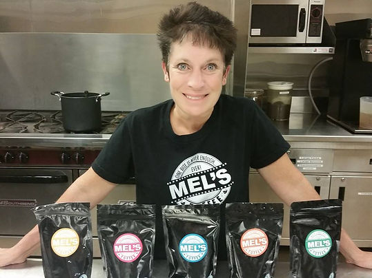 Owner of Mel's Toffee