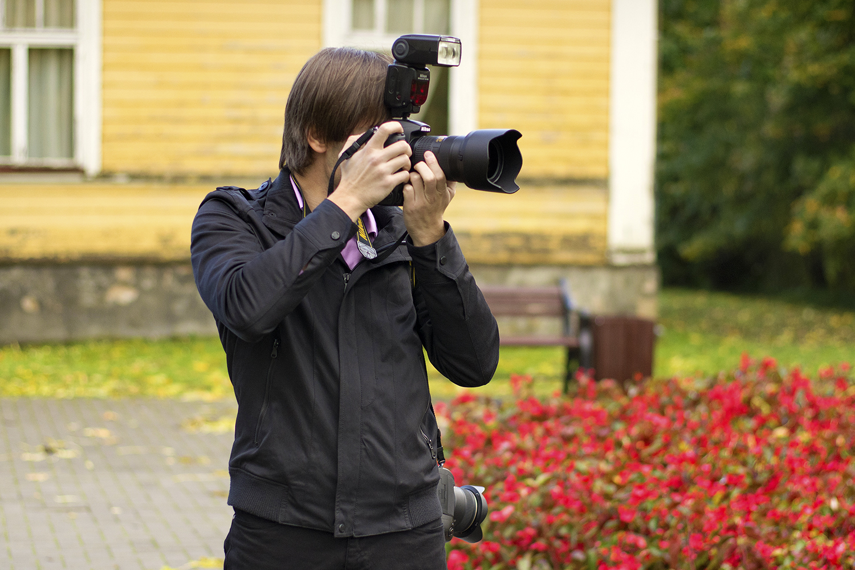 Profesionāls fotogrāfs Oskars Kupics