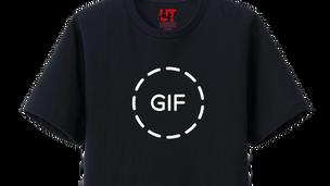 GIFアニメに見えない事もないTシャツ