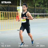 Sprained ankle and choked roads at Tata Mumbai Marathon 2020