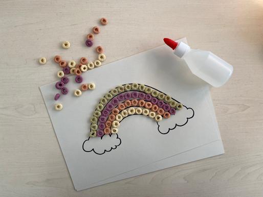 DIY 6 : A cereal rainbow
