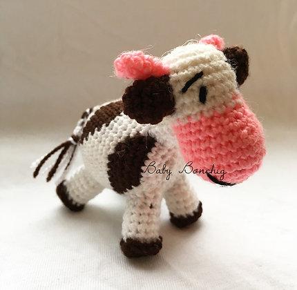 CROCHET COW FIGURE