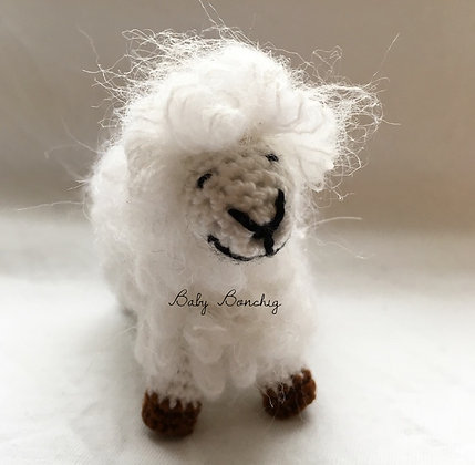 CROCHET SHEEP FIGURE