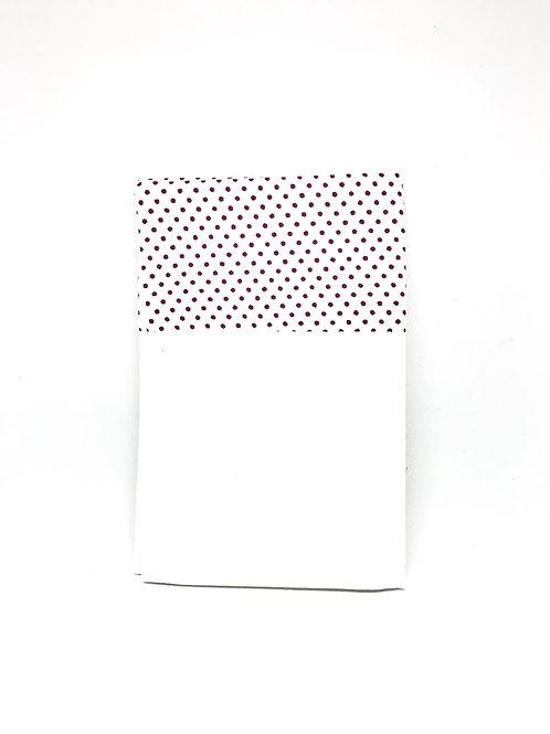 """Pochette de veste - Fil de Laure """"Edition Longines pois rouge"""""""