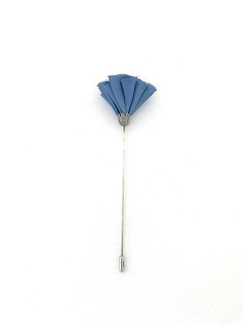 """Boutonnière - fleur """"bleu"""""""