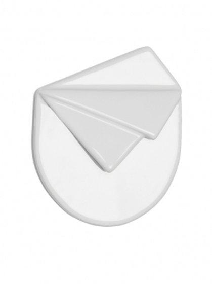 Cor Sine Labe Doli - Pochette céramique / Blanche