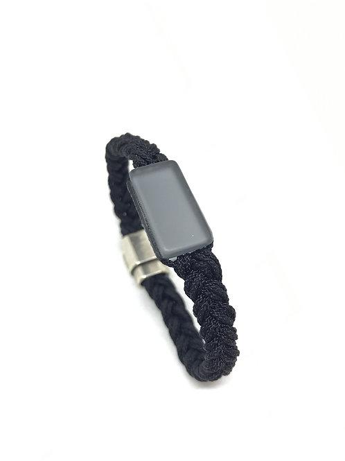 "Bracelet - SB ""corde noir"""
