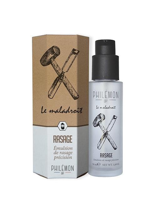 Emulsion de rasage/ Le maladroit / Philémon