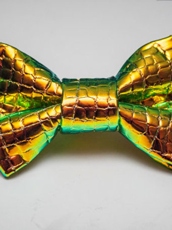 "Noeud papillon - Jake.S ""Holographic Aligator """