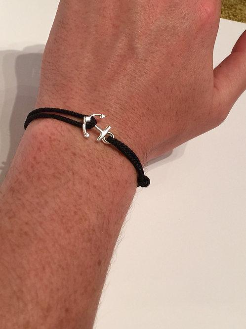 Bracelet ancre argent - Bagatelle