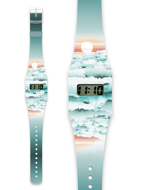 Montre Clouds - Pappwatch