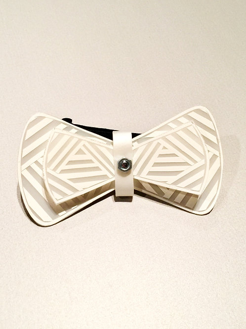 SuperBow EXCLUSIVITE - Noeud papillon unique graphic g/b