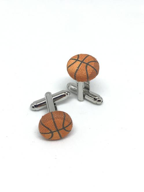 Boutons de manchette Basketball