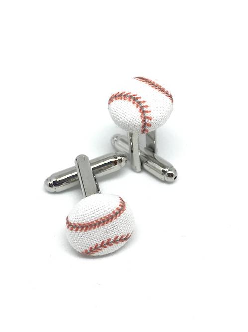 Boutons de manchette Baseball