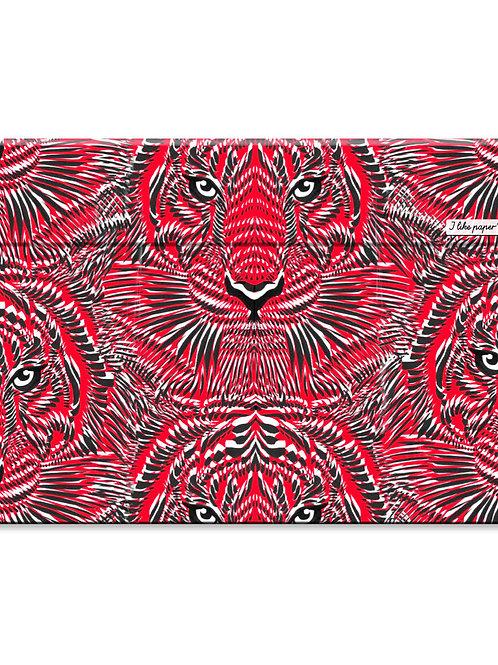 "Pochette de protection Macbook 15"" - Tiger"