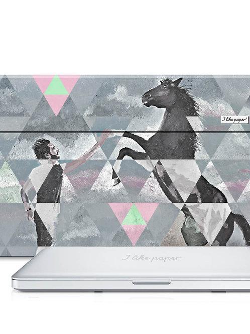 "Pochette de protection Macbook 15"" - AM I RIDE"