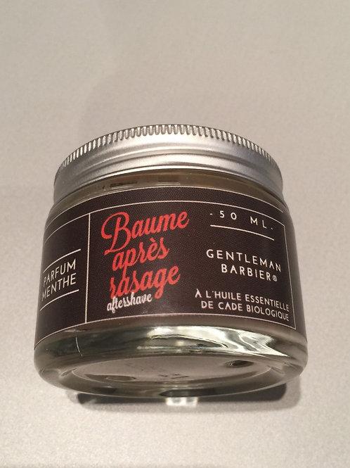 Gentlemen Barbier - baume après rasage - mentholé