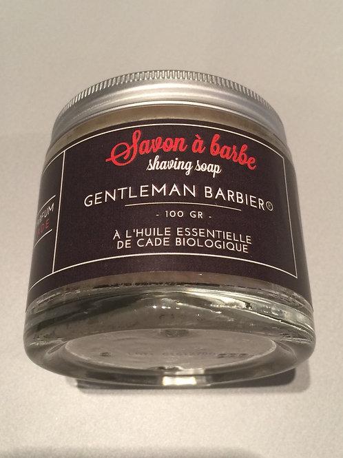 Gentlemen Barbier - Savon à barbe 100gr - cade