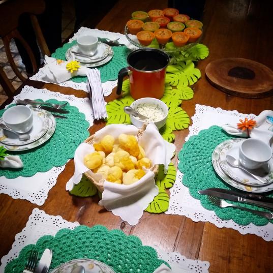 Café da Manhã e Lanches