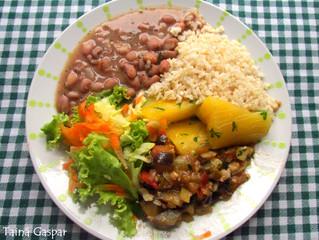O Prato Vegetariano Equilibrado
