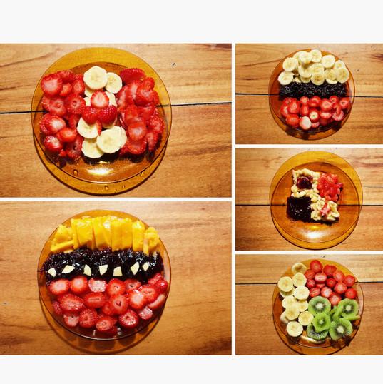 Bandeiras de Frutas (crianças)