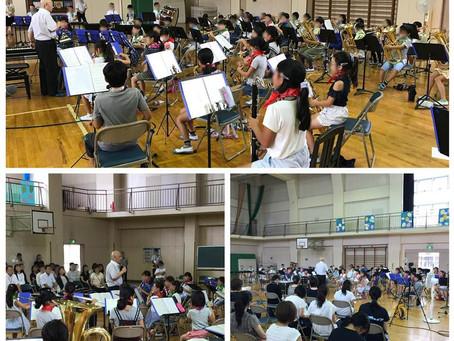 埼玉県小学校管楽器教育研究会研修会モデル演奏