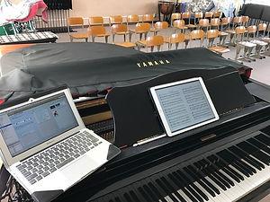 音楽科のICT機器活用