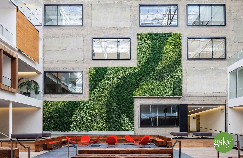 smart exterior green wall designs