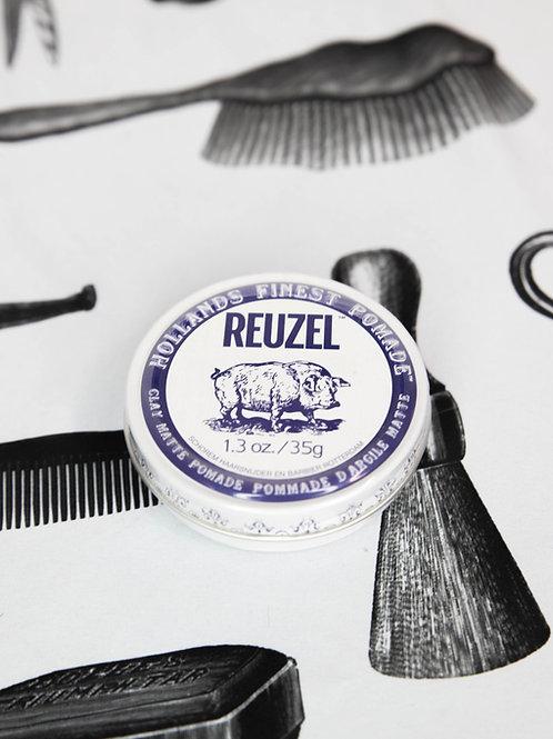 Reuzel Clay Matte White & Blue