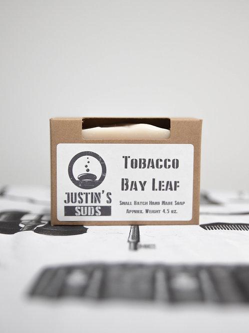 Justin's Suds Tobacco Bay Leaf Bar Soap