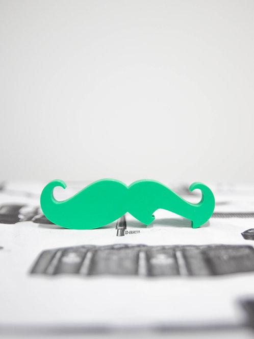 3D Printed Mustache Bottle Opener