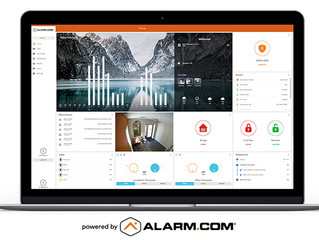 Have you seen Alarm.com's new web user dashboard yet?