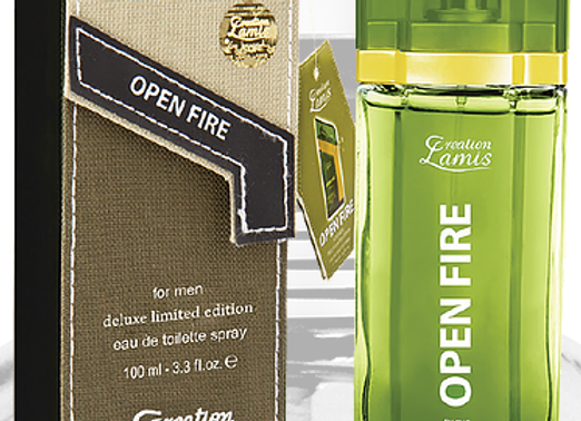 Creation Lamiis Open Fire 100ml Edt Deluxe
