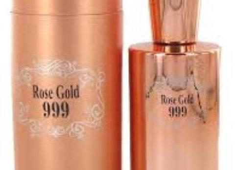 Saffron Rose Gold 999 100ml Edp