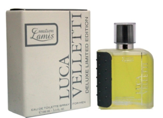 Creation Lamis Luca Velletti Deluxe 100 ml Edt Spray