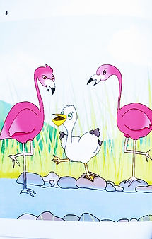 Pete and the Flamingos (picture).jpg