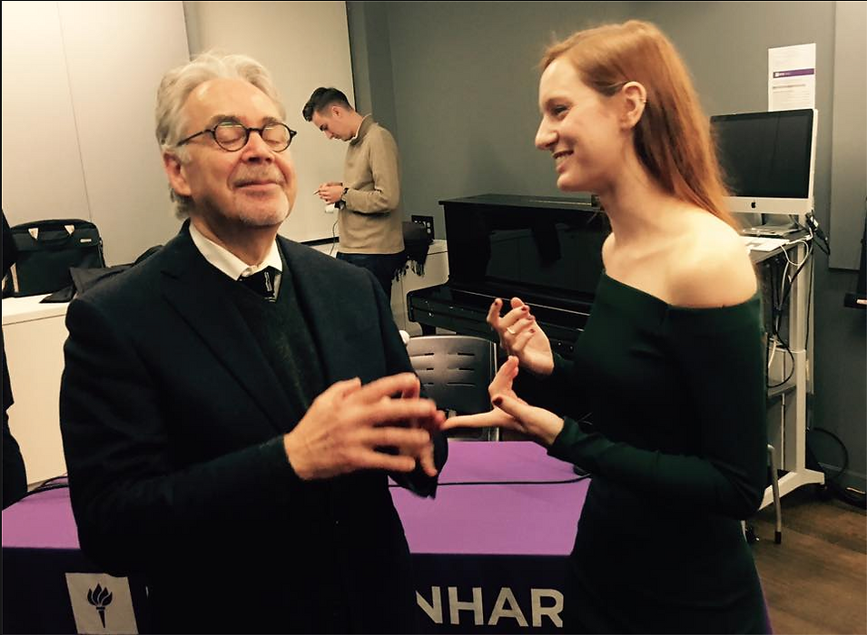 With Howard Shore