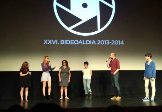 Talking about my music in Bideoaldia Film Festival