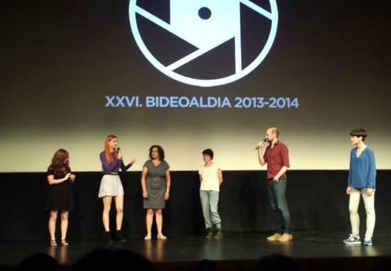 Talking about my music in Bideoaldia Film Festival