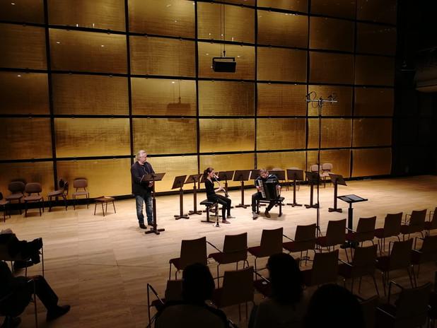 MUK Konzert mit Georg Seberg Gläserner Saal des Wiener Musikverein