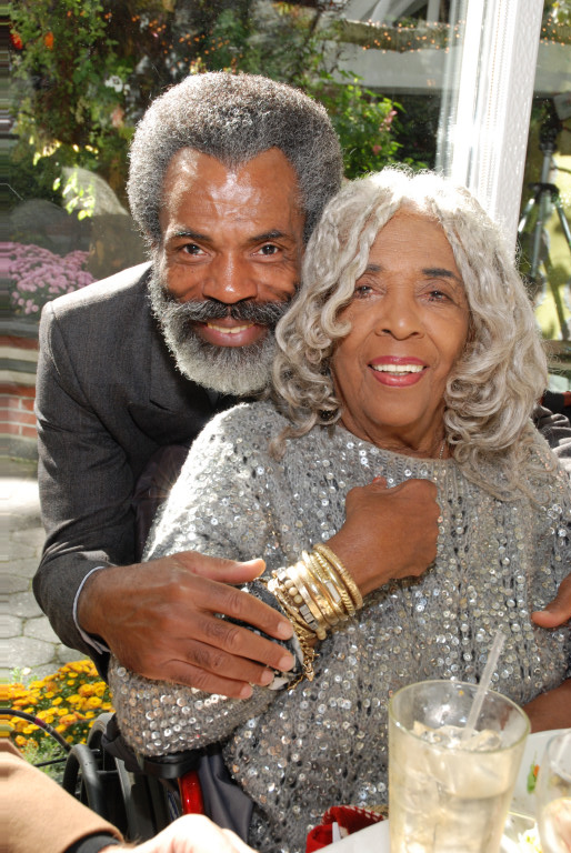 André De Shields and Ellen Stewart.